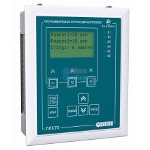 ПЛК73 контроллер с HMI для локальных систем в щитовом корпусе с AI/DI/DO/AO