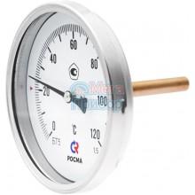БТ-х1.211 Термометры биметаллические общетехнические (осевое присоединение)