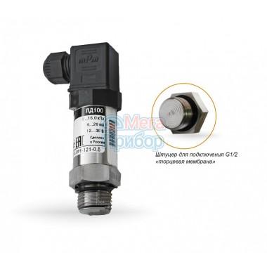 ПД100-121-141 Преобразователи давления с открытой мембраной для вязких, загрязненных сред
