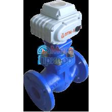КРП-50Мд клапан питания котлов дисковый с электрическим исполнительным механизмом ЭТМ