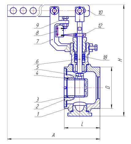 Клапан М65201